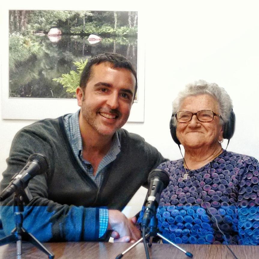 Maruja tiene 90 años, 2 hijos, 5 nietos y 5 bisniestos.