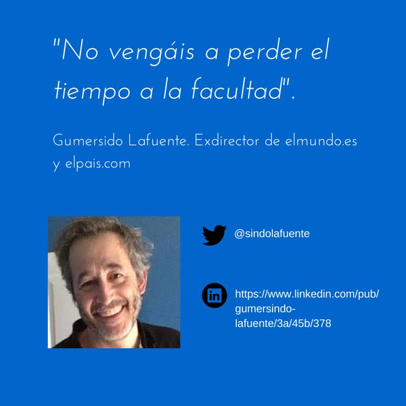 Hasta aquí la serie que hemos dedicado en este blog a las Jornadas de Comunicación organizadas por 20 minutos en la Facultad de Comunicación de la Universidad Complutense de Madrid.