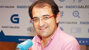 Kiko Novoa, director de Galicia por Diante, un tipo muy salao.