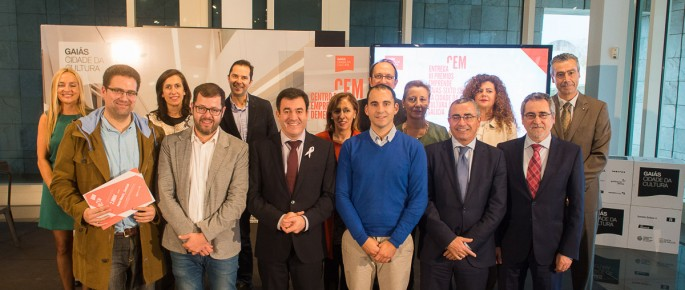 Foto de grupo: Premiados, jurado, autoridades y patrocinadores.